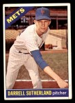 1966 Topps #191  Darrell Sutherland  Front Thumbnail