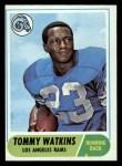 1968 Topps #182  Tom Watkins  Front Thumbnail