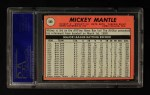 1969 Topps #500 *WN* Mickey Mantle  Back Thumbnail