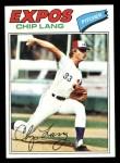 1977 Topps #132  Chip Lang  Front Thumbnail