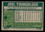 1977 Topps #548  Joel Youngblood  Back Thumbnail
