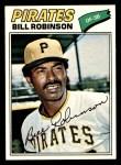 1977 Topps #335  Bill Robinson  Front Thumbnail