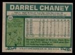 1977 Topps #384  Darrel Chaney  Back Thumbnail