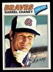 1977 Topps #384  Darrel Chaney  Front Thumbnail
