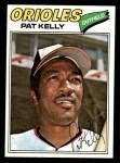 1977 Topps #469  Pat Kelly  Front Thumbnail