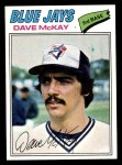 1977 Topps #377  Dave McKay  Front Thumbnail
