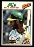 1977 Topps #551  Bill North  Front Thumbnail