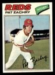 1977 Topps #86  Pat Zachry  Front Thumbnail