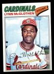 1977 Topps #47  Lynn McGlothen  Front Thumbnail