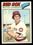 1977 Topps #89  Butch Hobson  Front Thumbnail