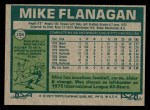 1977 Topps #106  Mike Flanagan  Back Thumbnail