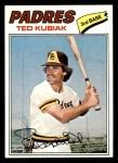 1977 Topps #158  Ted Kubiak  Front Thumbnail
