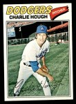 1977 Topps #298  Charlie Hough  Front Thumbnail