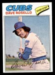 1977 Topps #92  Dave Rosello  Front Thumbnail