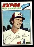 1977 Topps #274  Don Stanhouse  Front Thumbnail