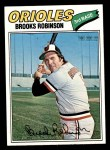 1977 Topps #285  Brooks Robinson  Front Thumbnail