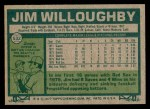 1977 Topps #532  Jim Willoughby  Back Thumbnail