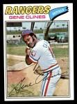 1977 Topps #237  Gene Clines  Front Thumbnail