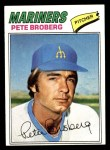 1977 Topps #409  Pete Broberg  Front Thumbnail