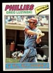 1977 Topps #30  Greg Luzinski  Front Thumbnail