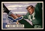 1951 Bowman #84  Ebert Van Buren  Front Thumbnail