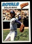 1977 Topps #556  Doug Bird  Front Thumbnail
