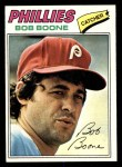 1977 Topps #545  Bob Boone  Front Thumbnail