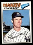 1977 Topps #148  Fran Healy  Front Thumbnail