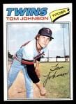 1977 Topps #202  Tom Johnson  Front Thumbnail