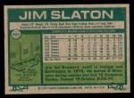 1977 Topps #604  Jim Slaton  Back Thumbnail