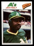 1977 Topps #349  Jim Holt  Front Thumbnail