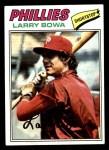 1977 Topps #310  Larry Bowa  Front Thumbnail