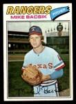 1977 Topps #103  Mike Bacsik  Front Thumbnail