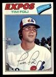 1977 Topps #76  Tim Foli  Front Thumbnail