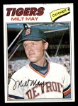 1977 Topps #98  Milt May  Front Thumbnail