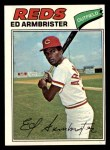 1977 Topps #203  Ed Armbrister  Front Thumbnail