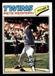 1977 Topps #249  Pete Redfern  Front Thumbnail