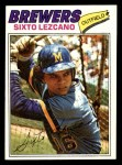 1977 Topps #185  Sixto Lezcano  Front Thumbnail