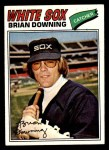 1977 Topps #344  Brian Downing  Front Thumbnail