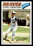1977 Topps #24  Carl Morton  Front Thumbnail