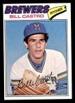 1977 Topps #528  Bill Castro  Front Thumbnail