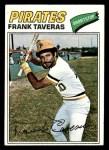 1977 Topps #538  Frank Taveras  Front Thumbnail
