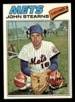1977 Topps #119  John Stearns  Front Thumbnail