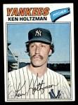 1977 Topps #625  Ken Holtzman  Front Thumbnail