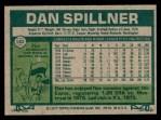 1977 Topps #182  Dan Spillner  Back Thumbnail