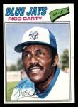 1977 Topps #465  Rico Carty  Front Thumbnail