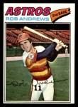 1977 Topps #209  Rob Andrews  Front Thumbnail