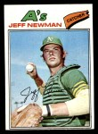1977 Topps #204  Jeff Newman  Front Thumbnail