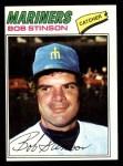 1977 Topps #138  Bob Stinson  Front Thumbnail