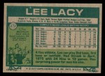 1977 Topps #272  Lee Lacy  Back Thumbnail